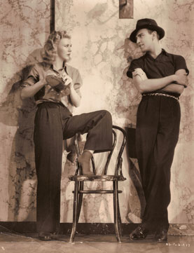 Pan and Ginger Rogers
