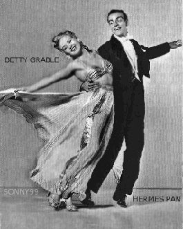 Pan and Betty Grable